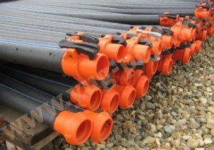Преимущество спринклерного орошения на ПЭ трубопроводах с БРС